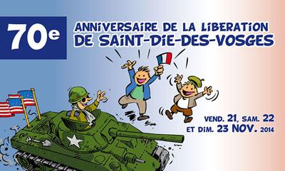 70e anniversaire de la Libération de Saint-Dié