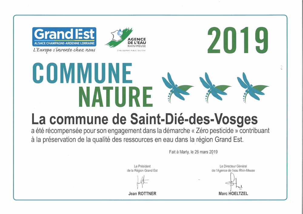 Label Commune Nature 2019